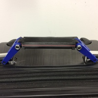 Small Collapsing luggage handle 3D Printing 137474