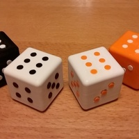 Small Big Dice 3D Printing 137479