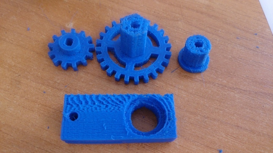 Robust drive transfer for the TT engine. HEX12 wheel. 3D Print 137481