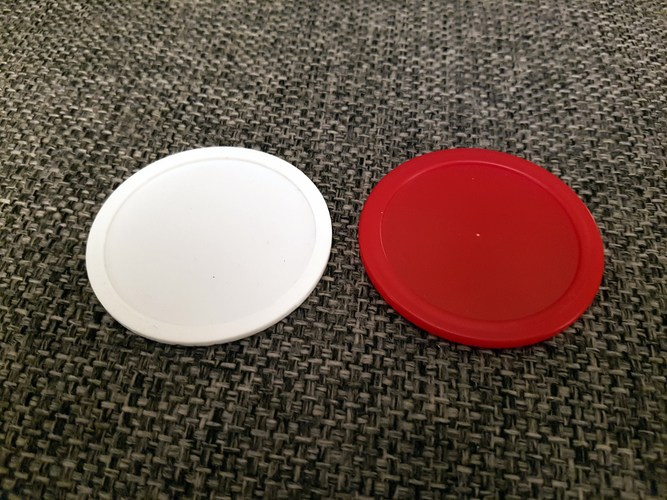 air hockey puck  3D Print 137493
