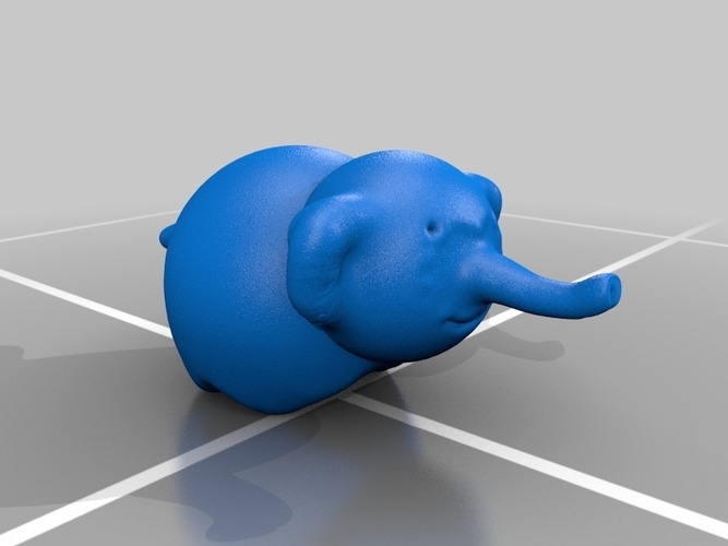 ella the elephant 3D Print 13752