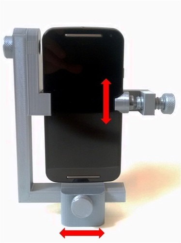 Smartphone Universal Nodal Stand for 360º Photo 3D Print 137576