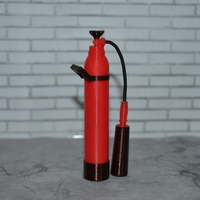 Small Scale 1/10 fire extinguisher 3D Printing 137586