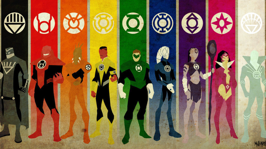 Lantern Corps ( ALL Corps LOGO's) 3D Print 137597