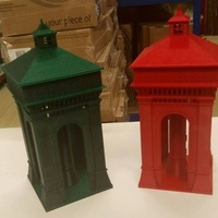 Small Colchester Water Tower ( Jumbo Water Tower ) 3D Printing 137601