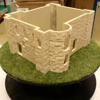 Small Colchester Castle 3D Printing 137602