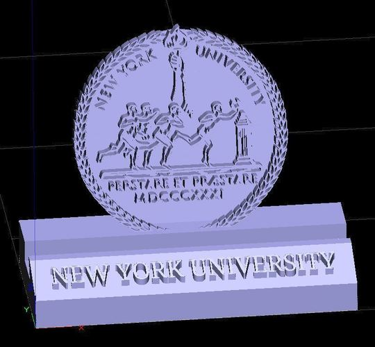 NYU New York University Phone Stand (3 designs) 3D Print 137653