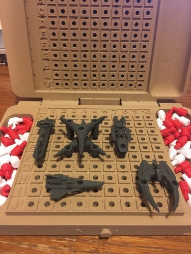 Battlestar Galactica Expansion Pack for BattleFleet Game 3D Print 137654
