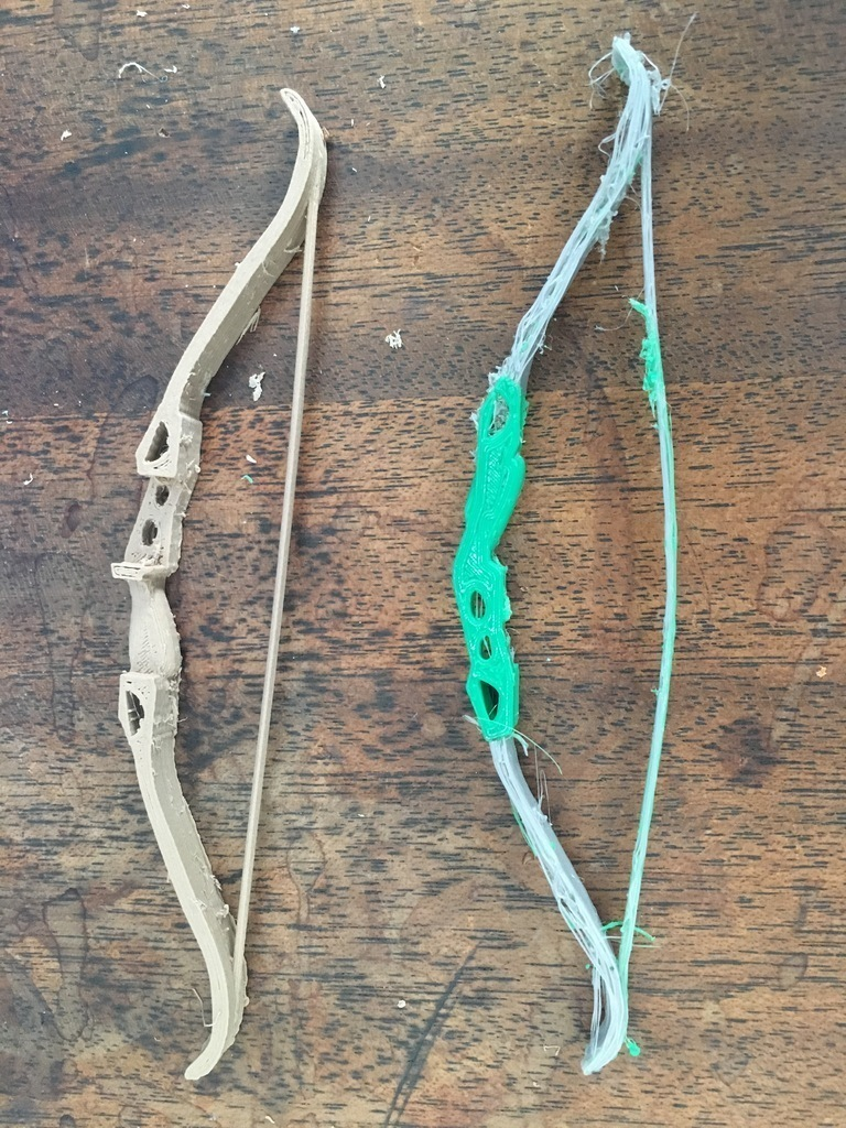3D Printed Recurve Bow by chemteacher628 | Pinshape