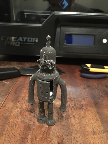 Bender with opening chest cabinet 3D Print 137682