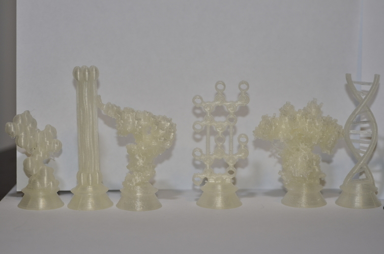 Biochemistry Chess Set 3D Print 137731