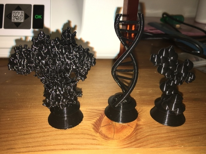 Biochemistry Chess Set 3D Print 137733