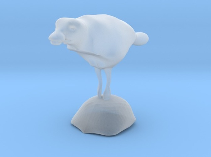 swimming duck with stand 3D Print 13775