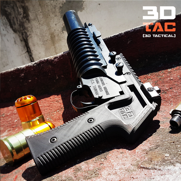 Medium 3DTAC / M203 Hand Cannon 3D Printing 137754