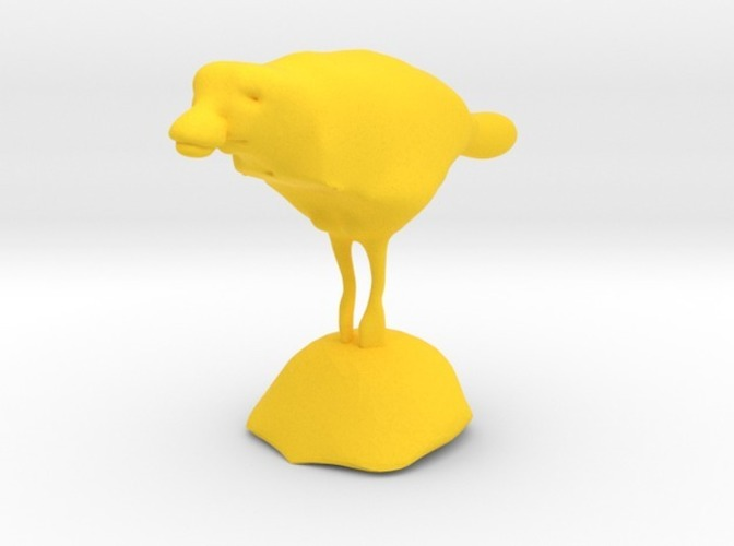 swimming duck with stand 3D Print 13776
