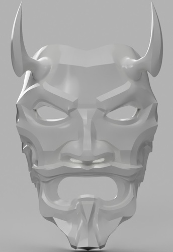 Uncle Oni Mask 3D Print 137910