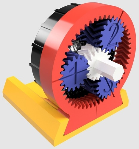 1379:1 Gearbox 3D Print 137962