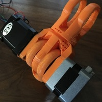 Small Modular Robotic Arm, Hinge Joint, No Hardware  3D Printing 137974