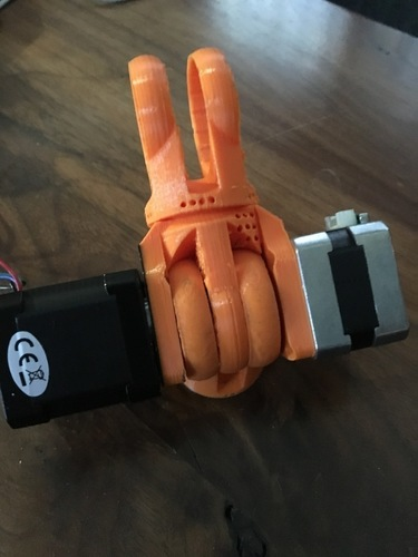 Modular Robotic Arm, Hinge Joint, No Hardware  3D Print 137977
