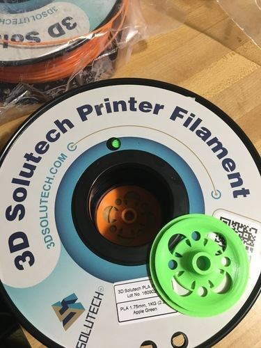 Film Spool Holder, Spacer for Anet A8 3D Print 137996