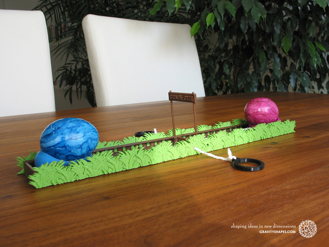 Easter Eggs Crasher: Crash Site 3D Print 138013