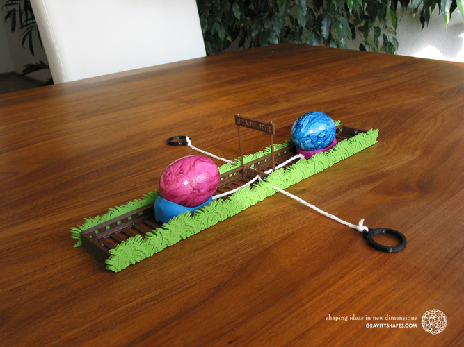 Easter Eggs Crasher: Crash Site 3D Print 138017