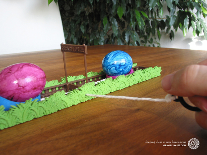 Easter Eggs Crasher: Crash Site 3D Print 138018