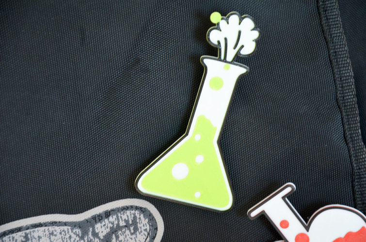 Love chemistry brooch/pin vol2 3D Print 138053