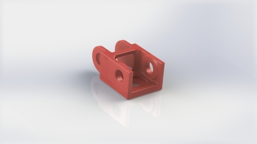 Cable chain custom ends (with sources) 3D Print 138154