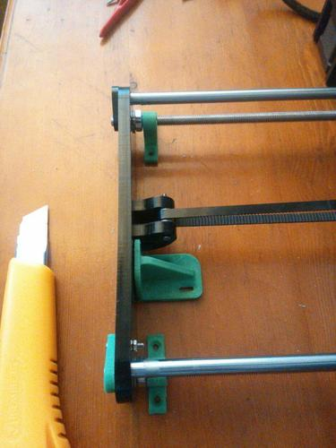 Holders for hot bed (Anet A6 printer) 3D Print 138262
