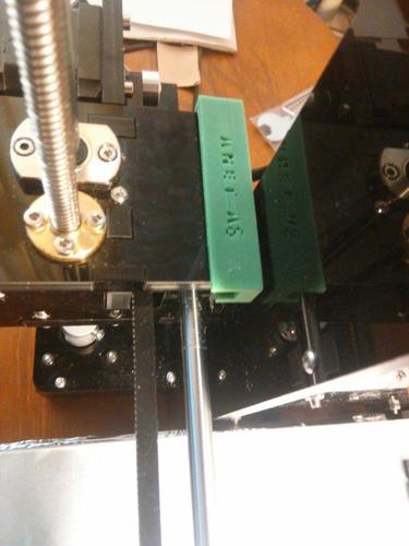 Z-Axis endstop level with glass 3D Print 138274