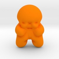 Small jelly baby 3D Printing 13829
