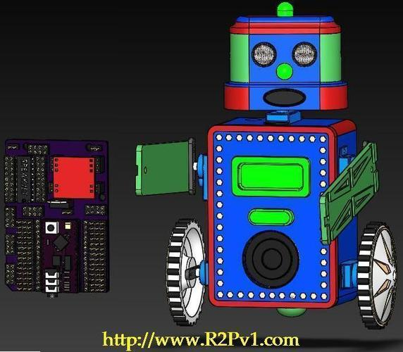 BillyBot Kit 3D Print 138292