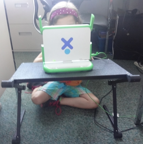 Adjustable Laptop Stand 3D Print 138345