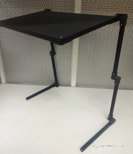 Adjustable Laptop Stand 3D Print 138346