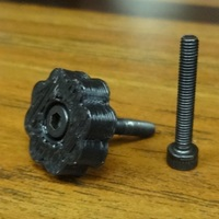 Small M3 Thumb Screw for Open-source Optics 3D Printing 138371