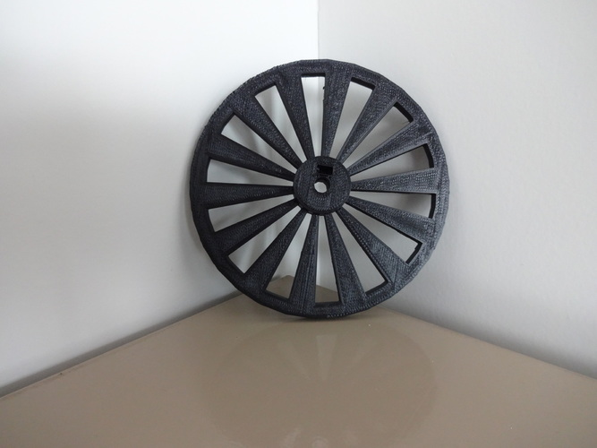Parametric open-source chopper wheel 3D Print 138380