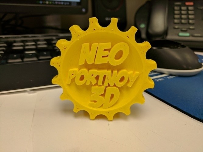 NeoPortnoy MakerCoin 3D Print 138412
