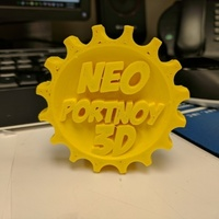 Small NeoPortnoy MakerCoin 3D Printing 138412