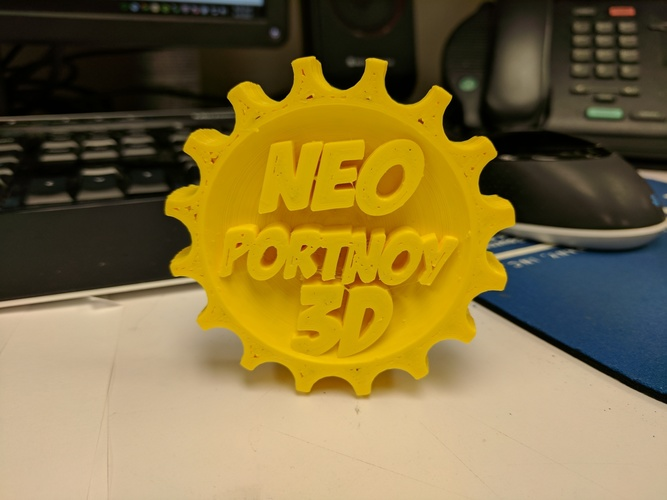 NeoPortnoy Makercoin 3D Print 138414