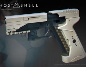 Ghost in the shell -Major termoptic pistol