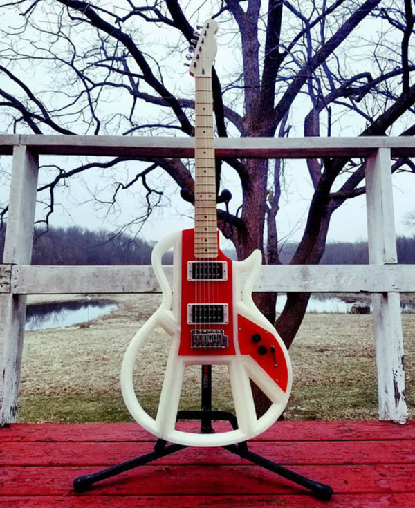 Medium Electric Guitar 3D Printing 138431