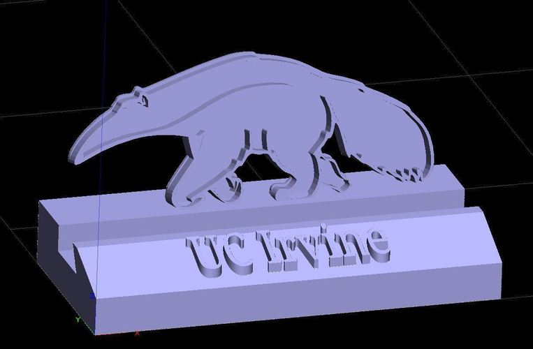 UCI Anteaters UC Irvine Phone Stand (4 designs) 3D Print 138433