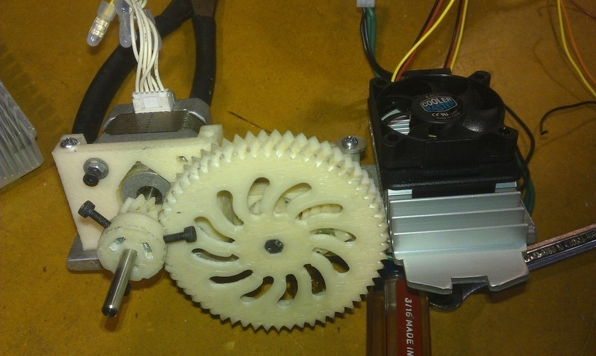 Double Barrel Extruder 3D Print 138462