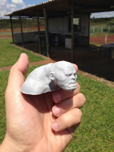 The Giant and the goats 3D Print 138485