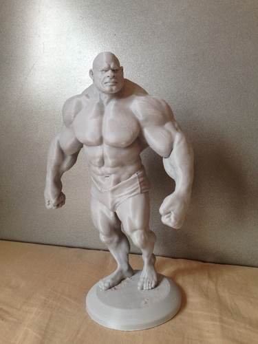 Bodybuilder - cartoon / stylized 3D Print 138499
