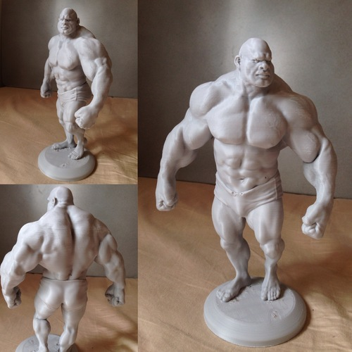 Bodybuilder - cartoon / stylized 3D Print 138501