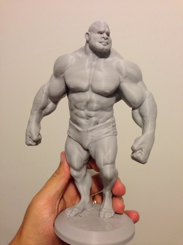 Bodybuilder - cartoon / stylized 3D Print 138502