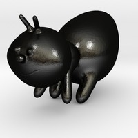 Small ant 3D Printing 13854