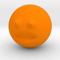 Small The annoying orange repaired 3D Printing 13856